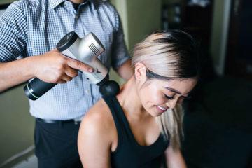Hypervolt massage